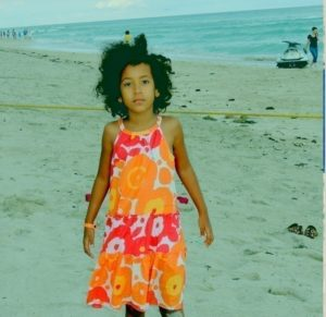 Binti Malaika at long beach, Miami