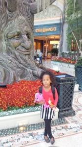 Binti Malaika at Bellagio Hotel