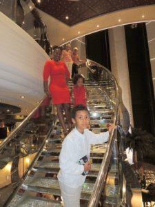 With my kids Amani and Malaika