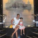 With my girl, Malaika