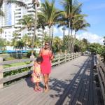 At long beach, Miami