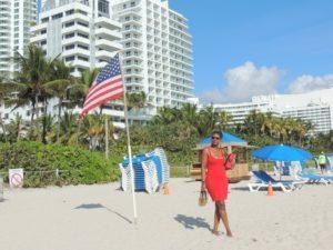At long beach Miami