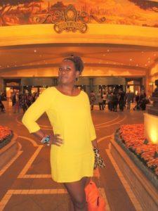 at Bellagio hotel
