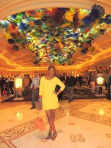 At Bellagio Hotel Las Vegas