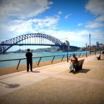 At Circular quay Sydney