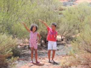 my babies enjoying outback Australia